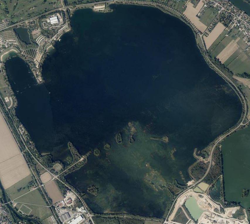 guidage pêche brochet le lac de Poses et ses 400ha d'eau