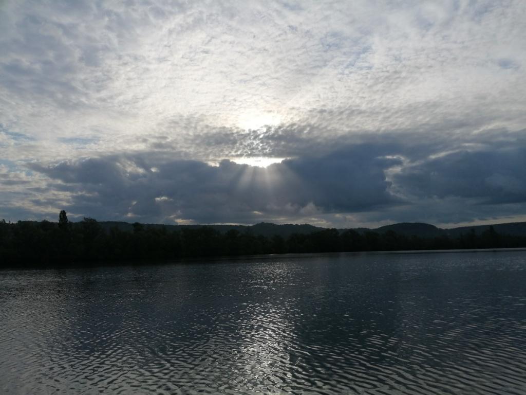vue du lac de poses