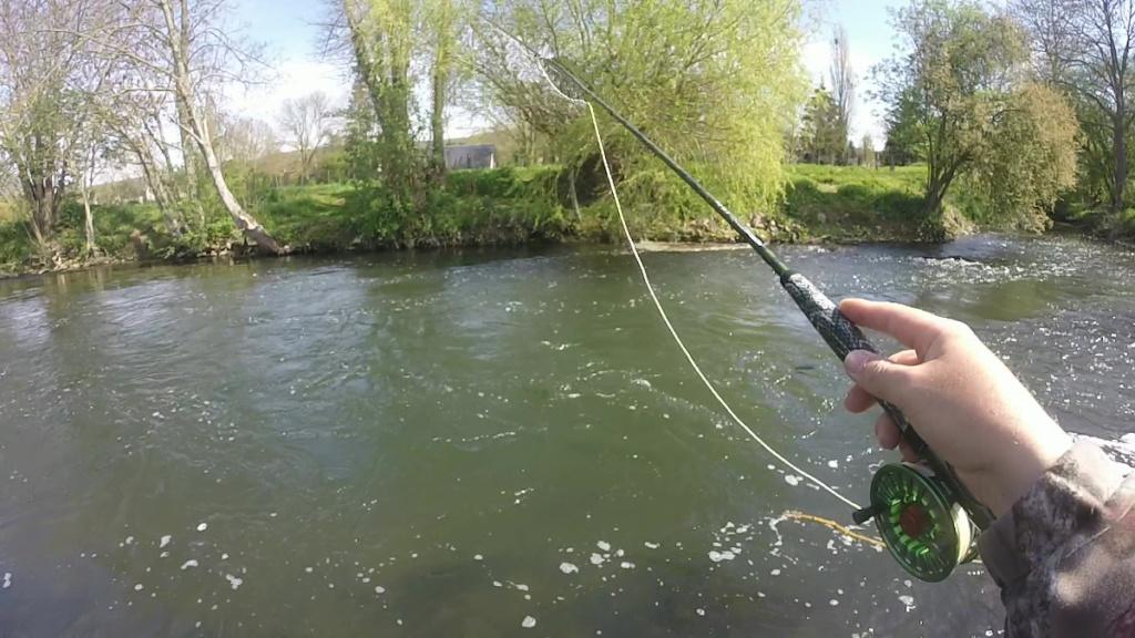 Animation pratique de la pêche, initiation mouche