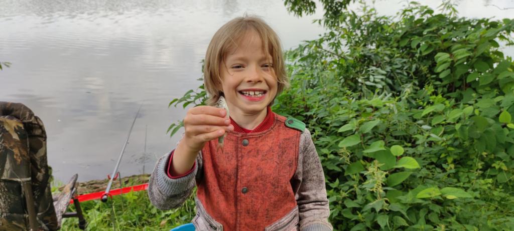 Initiation pêche au coup pour enfant